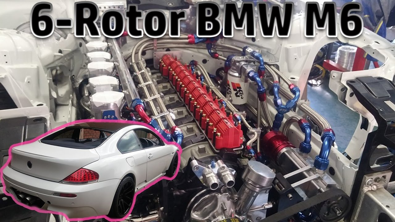 6 Rotor Bmw M6 Engine Swap Rotary Bmw Videos And Build Progress