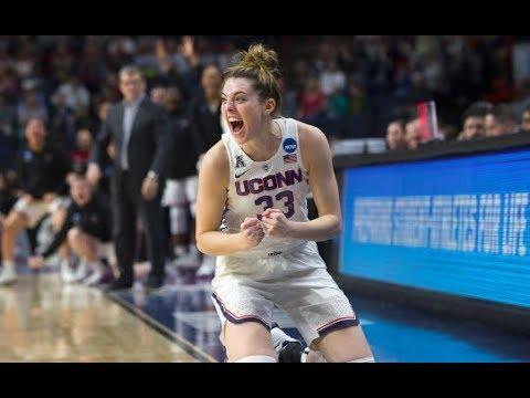 UConn Women's Basketball Highlights v. South Carolina 03/26/2018 (NCAA Tournament Elite Eight)