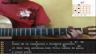 Playa Giron - Silvio Rodriguez acordes HD