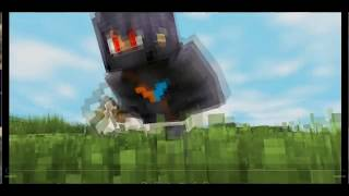Minecraft 3D Intro Template | Slow fight
