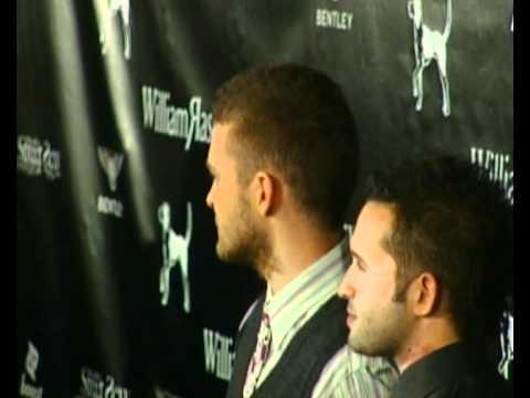 Justin Timberlake at William Rast fashion show
