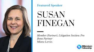 Millennium Fellowship Global Webinar with Sue Finegan - Mintz