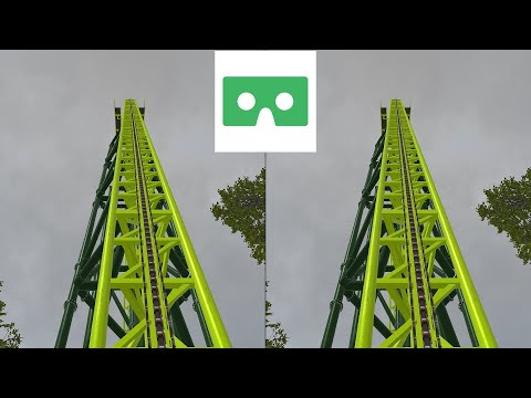 VR 3D Video Roller Coaster 17  Американские Горки для VR очков 3D SBS VR Box