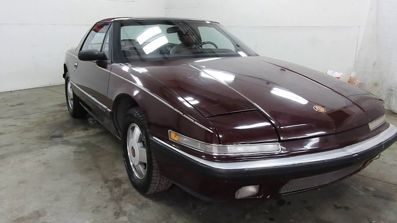 Dustyoldcars com 1990 buick reatta sn 1511