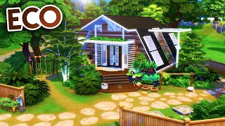 ECO FAMILY HOME // Sims 4 Speed Build