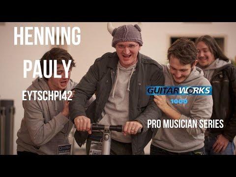 Henning Pauly @eytschpi42| Youtuber Guitarist Producer | Pro Musician Interview