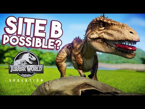 SITE B NEARLY POSSIBLE? NEW SANDBOX OPTIONS DISCUSSED | Jurassic World: Evolution