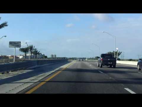 Sawgrass Expressway (FL 869 Exits 11 to 1) southbound