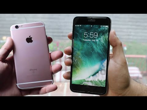 iPHONE 6S Vs iPHONE 6S PLUS IN 2018! (Comparison / Review)