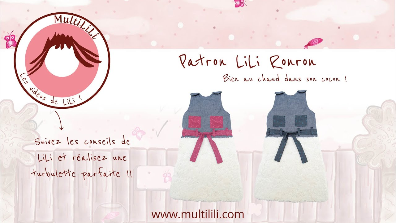 Bevorzugt Patron de couture : turbulette LiLi Ronron - tutoriel pas à pas  XY23
