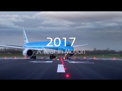 KLM 2017 A Year In Motion