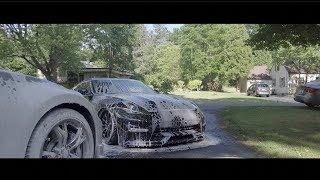 Bagged 370z Car Wash