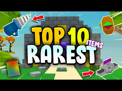 TOP 10 RAREST ITEMS In Roblox Islands (Skyblock)