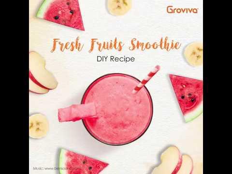 Tasty Lab: Fresh Fruits Smoothie