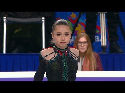 Камила Валиева. Произвольная программа. Женщины. Чемпионат России по фигурному катанию 2021