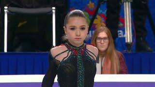 Камила Валиева Произвольная программа Женщины Чемпионат России по фигурному катанию 2021