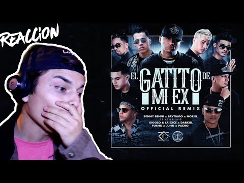 Video Reacción | El Gatito De Mi Ex (Remix)Benny Benni Ft. Brytiago, Noriel, Darkiel, Pusho & Más -