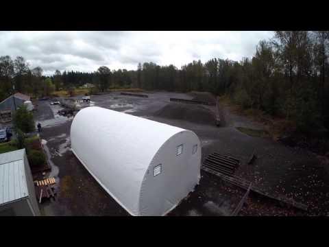 Alaska Structures Salt and Sand Storage Buildings