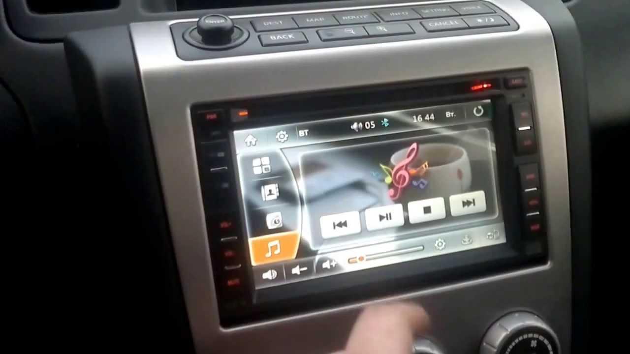 Nissan Murano Z50 Nexus 7 Youtube