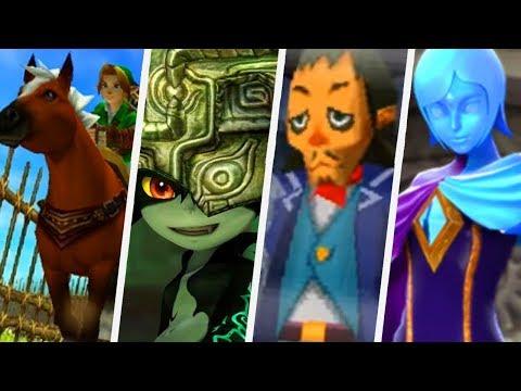 Evolution of Link's Companions in The Legend of Zelda Games (1998 - 2017)