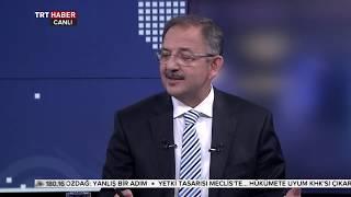 TRT Haber Özel Röportaj - 09.05.2018 - Çevre ve Şehircilik Bakanı Mehmet Özhaseki