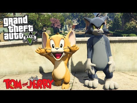 COMO IR AO MUNDO DO TOM E JERRY NO GTA V?!?! Incrivel