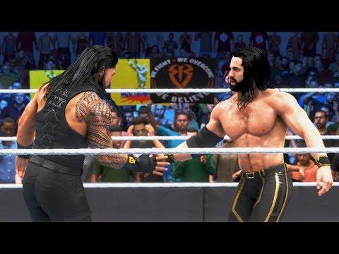 WWE2K20 - Seth Rollins & Roman Reigns vs Sheamus & Cesaro.