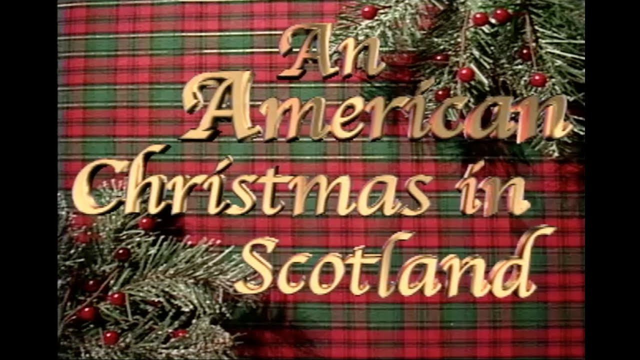 An American Christmas In Scotland Holiday Decorating