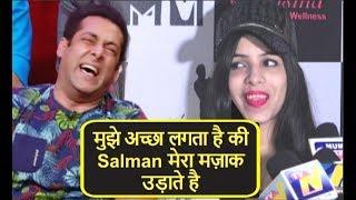 Dhinchak Pooja DUMB Reply On Salman Khan Making Fun Of Her