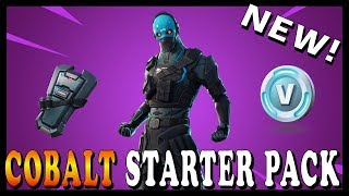 "NEW ""COBALT PACK"" SKIN and NEW ""GRIM MEDICINE"" SKINS in FORTNITE! // Playing With SUBSCRIBERS"