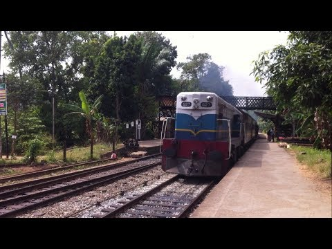"""SLR Class M2c 627 """"Vancouver"""" passing Alawwa railway station with train #1019"""
