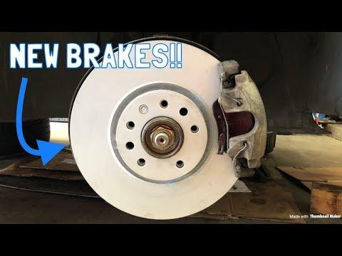 Saab 9-5 Aero Brake Replacement!