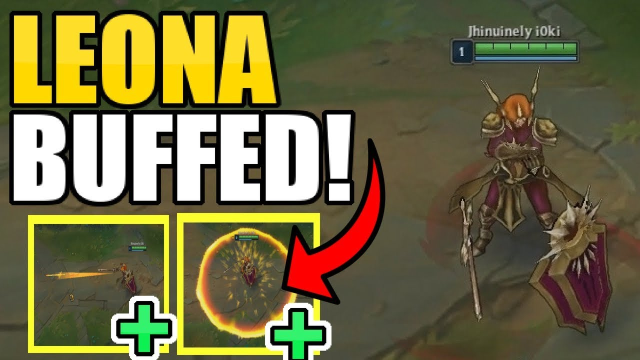 LEONA BUFFS! || POSSIBLE KIT REWORK!?!? || Patch Notes 8.16