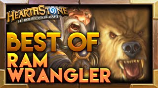 Ram Wrangler Hearthstone TGT Moments | Hearthstone Funny Best Lucky Plays Moments