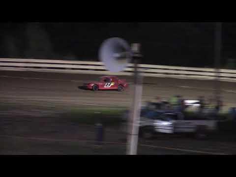 Hummingbird Speedway (9-1-18): Aaron's Four-Cylinder Heat Race #2