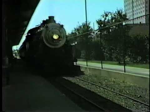 Steam Locomotive # 555 Under Steam