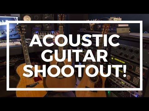 Acoustic Guitar | Martin vs Taylor vs Gibson