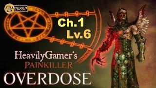 Painkiller Overdose Gameplay Walkthrough (PC) Chapter 1-Level 6:Black Tower/Guardian Boss Fight