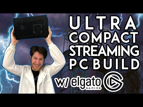 mITX MONSTER! - Ultra Compact Portable Streaming PC Build