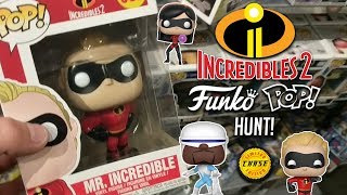 Incredibles 2 Funko Pop Hunt! (FOUND A CHASE)