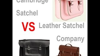 Cambridge Satchel Company vs Leather Satchel Company | Full Review | LoveBezuki Thumbnail