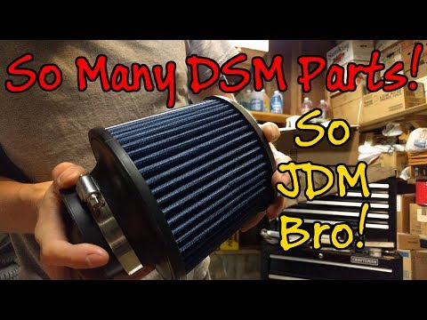 Mitsubishi Eclipse GSX - Big Parts Order Unboxing - DSM Project Car