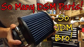 Video Mitsubishi Eclipse GSX - Big Parts Order Unboxing - DSM Project Car download MP3, 3GP, MP4, WEBM, AVI, FLV September 2018