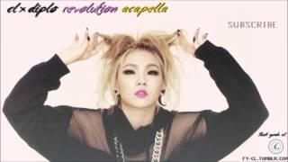 [AUDIO] CL X DIPLO - REVOLUTION (Acapella)