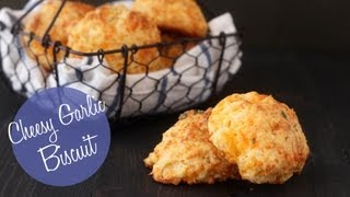 Cheesy Garlic Biscuits