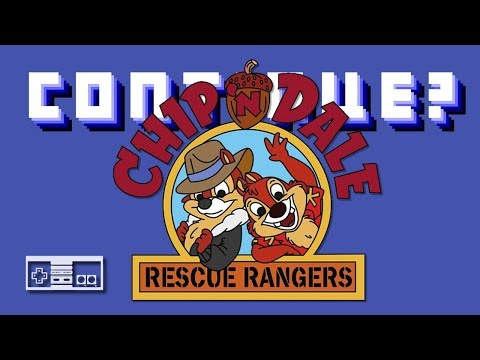 Chip 'n Dale Rescue Rangers (Nintendo NES) - Continue?