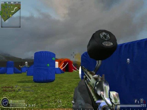 Cod 4 mod modern paintball