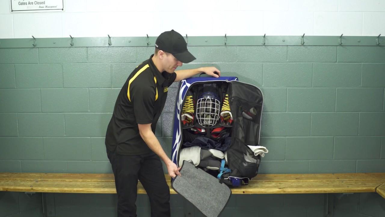 e07e96d5537 HYFX (Junior size) Hockey Tower Bag - YouTube