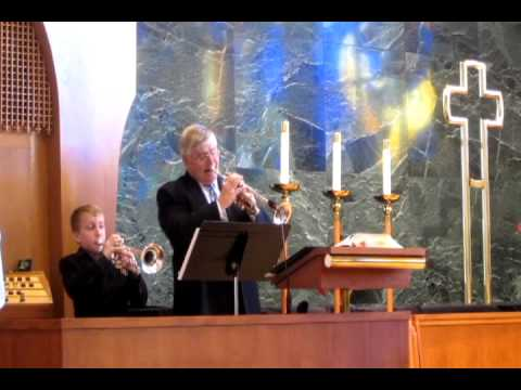 GEOFF GALLANTE, Now Thank We All Our God, duet with Steve Hendrickson, Principal Trumpet NSO