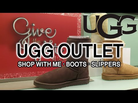 UGG OUTLET STORE ♥ SHOP WITH ME - 어그부츠 미국 아울렛 매장 투어